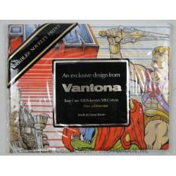 He-man Pillow Case MIP, Vantona 1984
