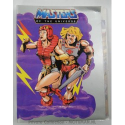 He-man A4 2-ring binder, Mattel 1986