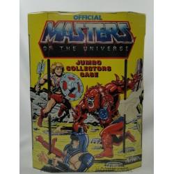 He-man Jumbo Collectors Case yellow, Mattel 1985