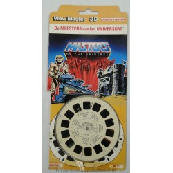 He-man View Master Reels with package, 1983