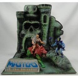 Castle Greyskull Shop Display lamp with He-man, Battle Cat and Skeletor