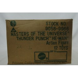 Thunder-Punch He-man Store Stock Box with contents