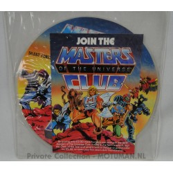 MOTU Club printed LP, Exciting adventures from Eternia, Mattel 1985