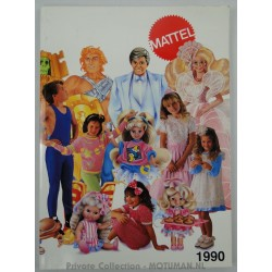 Mattel Sales Rep catalogue 1990
