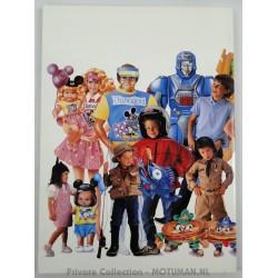 Mattel Sales Rep catalogue 1990