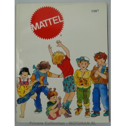 Mattel Sales Rep catalogue 1987