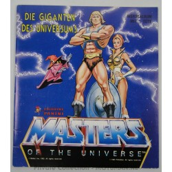 He-man Panini Sticker albums