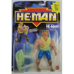 Thunder Punch He-man MOC 1990 Mattel New Adventures