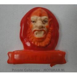 magnet Nr.6 Beastman, Mattel 1984, possible Gum Ball Toy