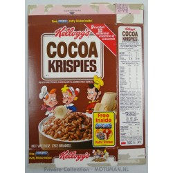 """Kellogs """"Choco Krispies"""" box"""