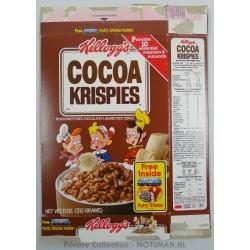 Kellogs €œChoco Krispies empty€ box