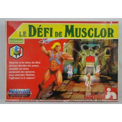 Le Defi de Musclor, board game, Nathan 1984