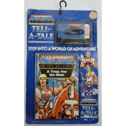 """Tell a Tale, Book+Tape MOC """"A trap for He-man"""", Mattel 1984"""