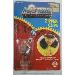 Zipper clips Skeletor MOC, HG Toys 1984