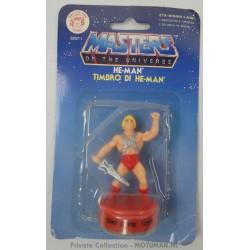 He-man Stamp MOC, Mattel 1985