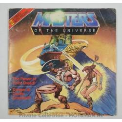 45 LP record - The Power of Point Dread - Danger at Castle Greyskull, 1983 Mattel