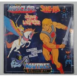 Musclor and She-ra, The Movie Cartoon LP, Sealed, AB Productions 1985