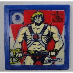 He-man mini 15-puzzel, 6cm He-man, 1983