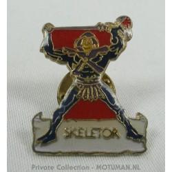 "speldje, emaille ""Skeletor"", 2 CM"