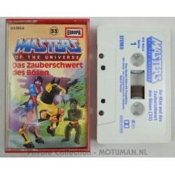 Tape Casette nr 33, Das Zauberschwert des Bosen, Europa 1987