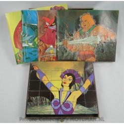 Jeu d'Eveil 30 Cubes Puzzle, France Jouets 1984