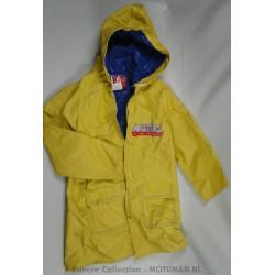 MOTU Raincoat Yellow, Swell-Wear industries, He-man + Battle Cat
