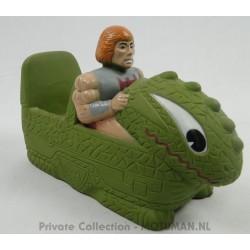 Soap holder He-man in Dragon Walker
