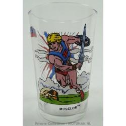 mosterd glas He-man - Skeletor
