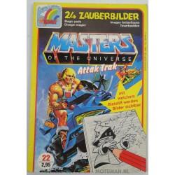 MOTU Attak Trak - Magic pads, 24 Zauberbilder, Remus 1986