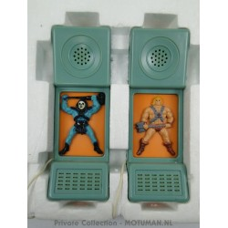 He-man & Skeletor kid telephones INTERCOM