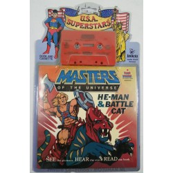 Hear and Read - He-man and Battle Cat Book and Cassette MOC, Kids Stuff 1983