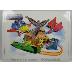 He-man Placemat 1/4, Icarus 1983