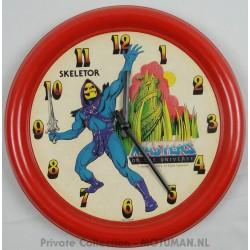 Skeletor Round Clock loose, Tox 1984