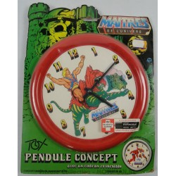 He-man and Battle Cat Red Clock MOC, Tox 1984
