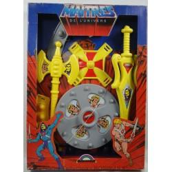 He-man dress-up set MIB, Maitres de l'universe, Delavennat 1984