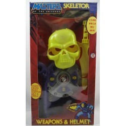 Skeletor Weapons & Helmet Set MIB, HG Toys 1984