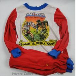 He-man vs Kobra Kahn pajama with pants, 1985