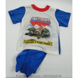He-man and Road Ripper pajama with pants, 1985
