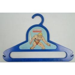 Blue He-man Clothes Hanger, Mattel 1984