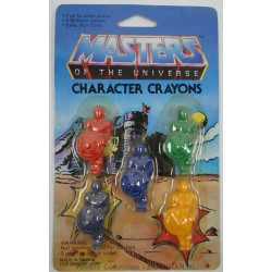 He-man with shield Character Crayons MOC Castle bg, Panosh Place 1984