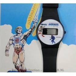 He-man Digital Watch MIP 3/4, Citron 1988