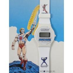 He-man Digital Watch MIP 4/4, Citron 1988