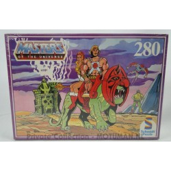 He-man Puzzle Sealed 200pcs Paars, Schmidt 1984
