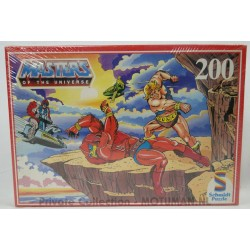 He-man Puzzle Sealed 200pcs Rood, Schmidt 1985