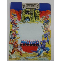 He-man strong Clip Board A4, Josman 1984