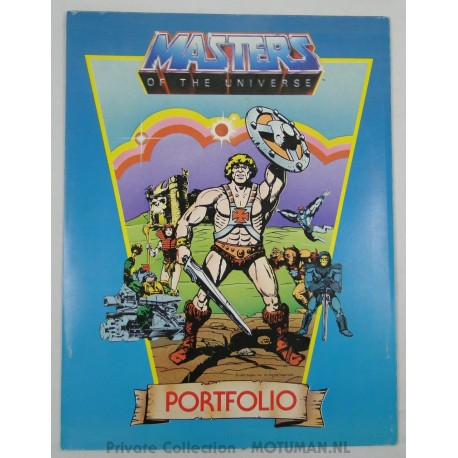 He-man Portfolio A4 2/3, Plymouth 1983