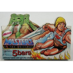 He-man Chocolate Candy Bars Box, Alma 1984