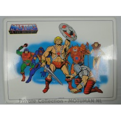 He-man Placemat 5/6, Icarus 1983
