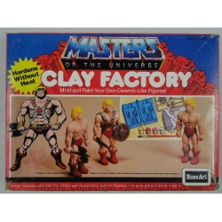 He-man Clay Factory MIB, Rose Art 1984