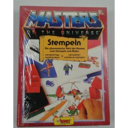 He-man Stempeln set MIB, Remus 1985 Germany
